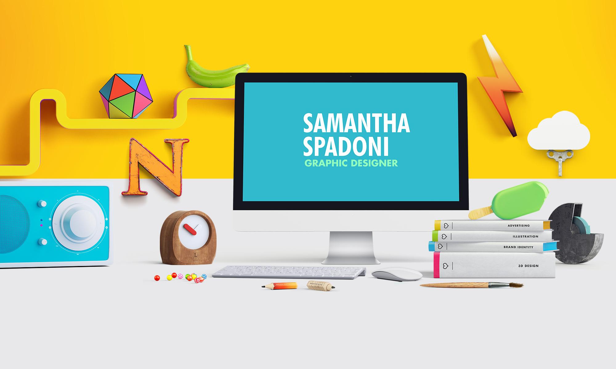 SAMANTHA SPADONI - graphic designer