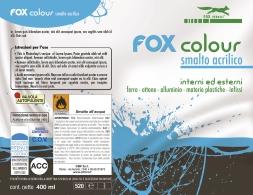 grafica di una etichetta di vernice spray