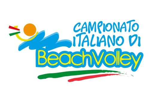 logo per evento di beach volley